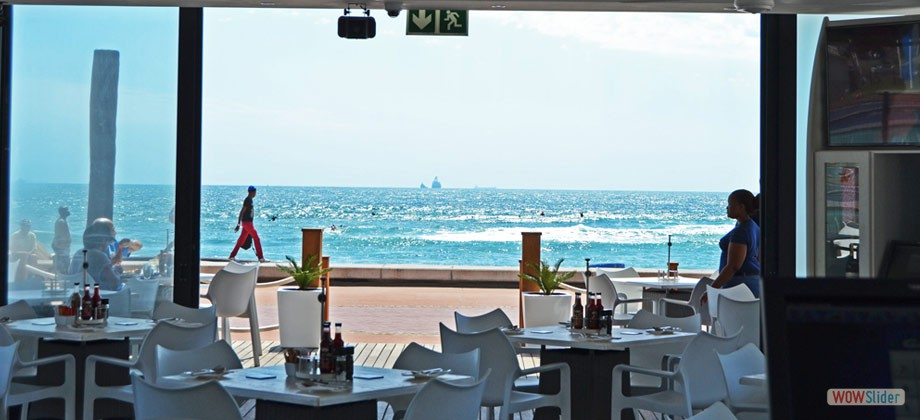 Best Restaurants with an Ocean View near Durban