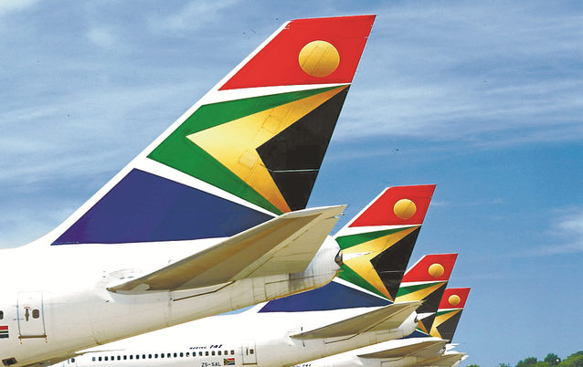 Top Airlines in South Africa.