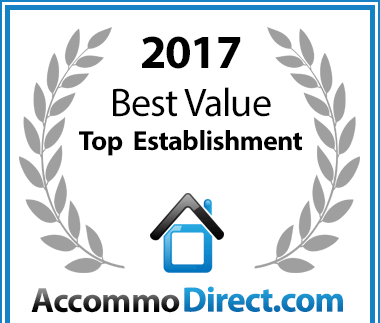 AccommoDirect Best Value Top Establishment 2017