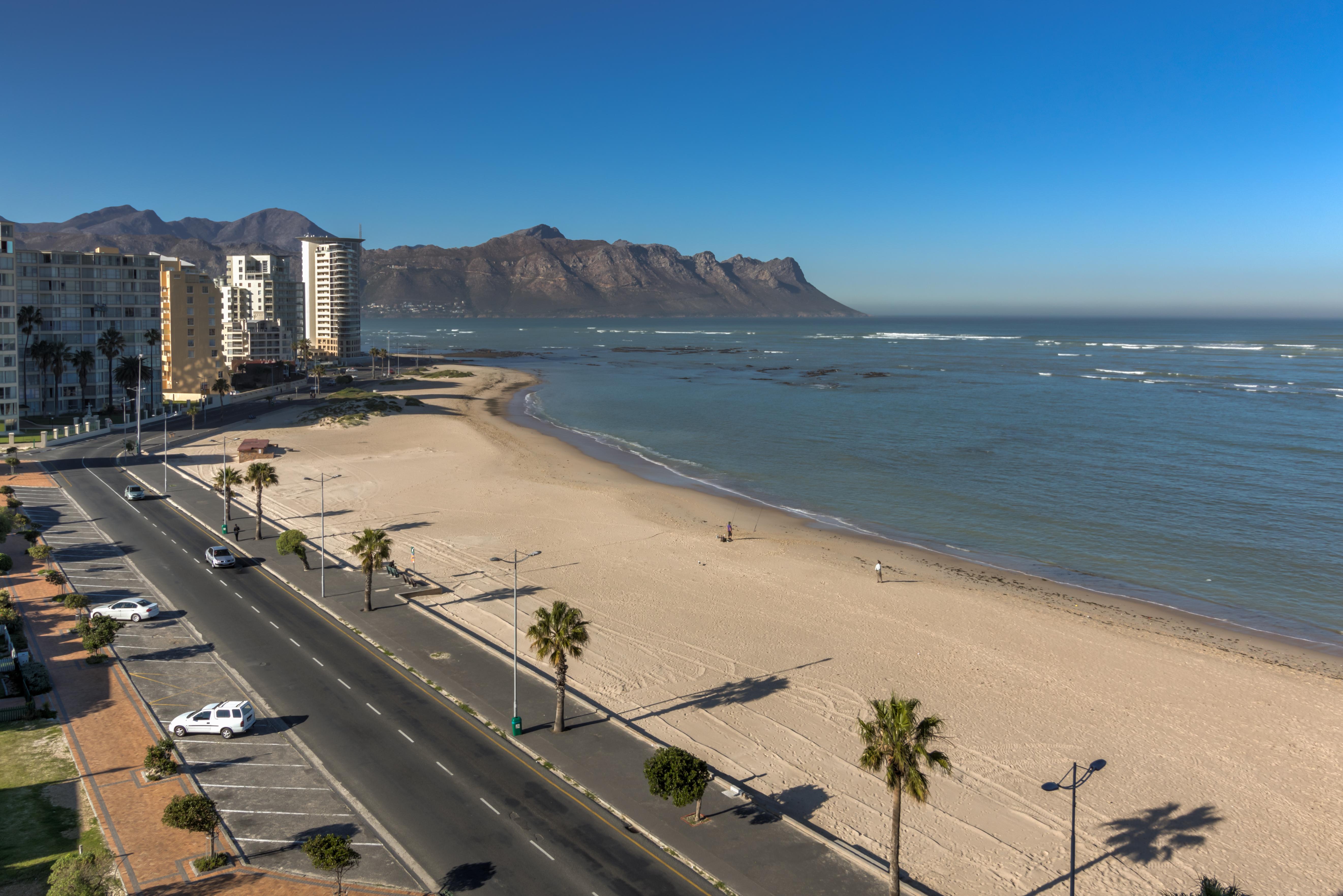 Odeon Beach Break In Strand Western Cape South Africa