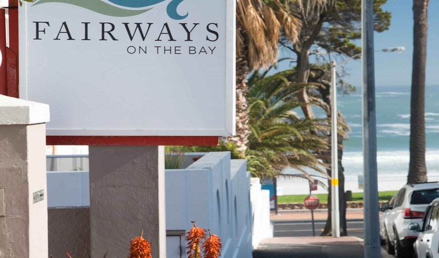Entrance and parking in Camps Bay, Cape Town, Western Cape , South Africa