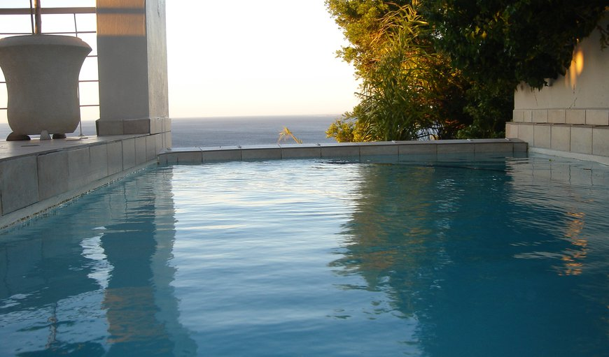 Solar heated swimming pool in Bantry Bay, Cape Town, Western Cape , South Africa