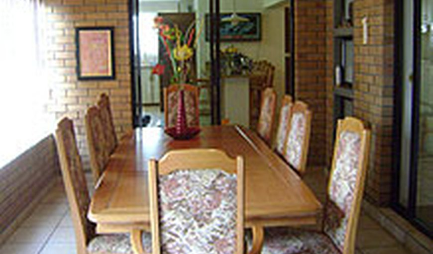 Large dining room downstairs