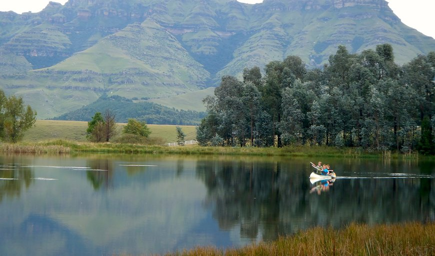 The beautiful Stoneyhall Farm is situated in Underberg, southern Drakensberg.