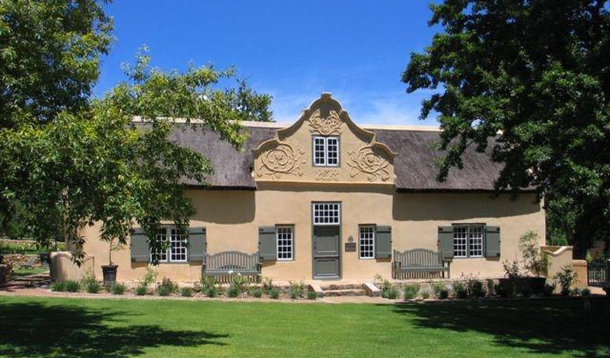 Burgundy Bourgogne Manor House and Cottages in Franschhoek, Western Cape , South Africa