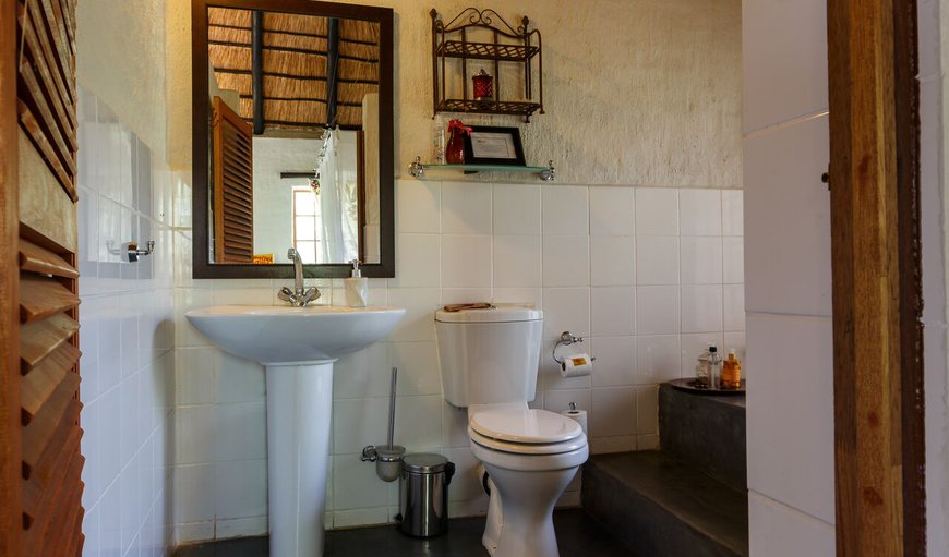 Bathroom for Baobab, Leadwood, Jackelberry & Marula Suites.