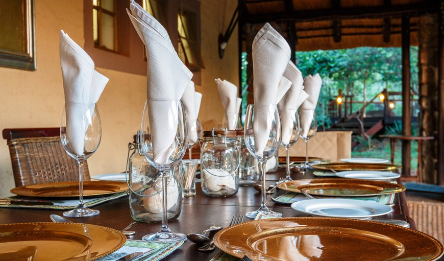 Shikwari Suites- Set for dinner on the veranda