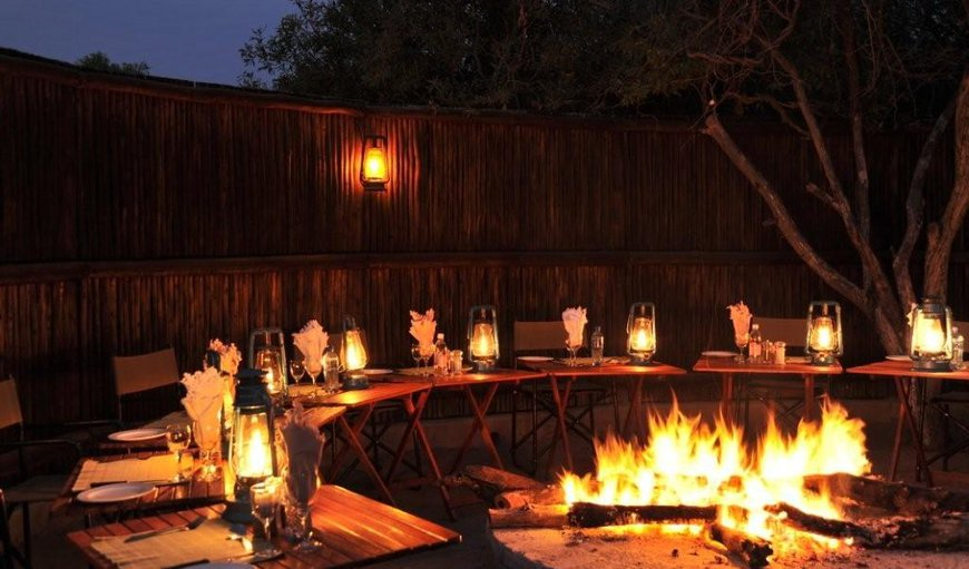 Waterbuck Lodge - Fire pit in Thornybush Game  Reserve, Mpumalanga, South Africa