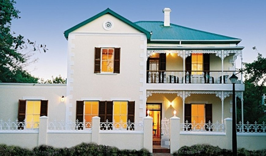 Evergreen Manor and Spa in Stellenbosch, Western Cape , South Africa