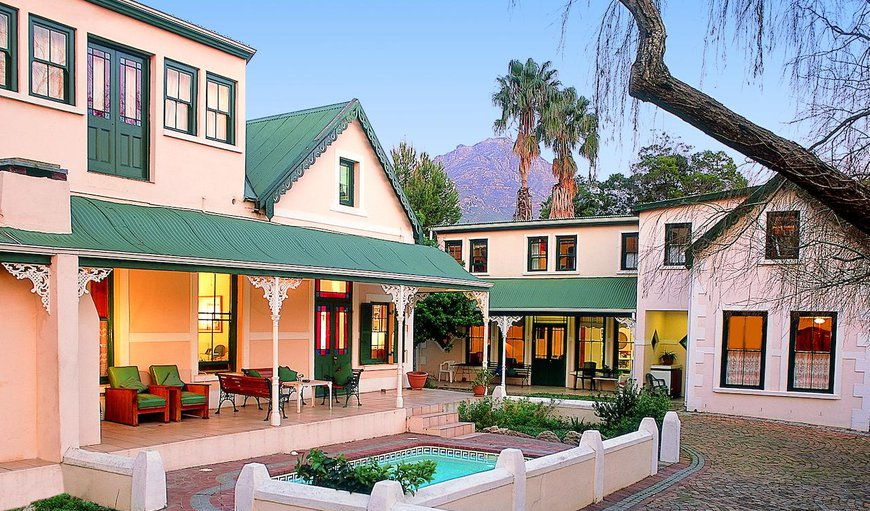 Welcome to Evergreen Lodge in Stellenbosch, Western Cape, South Africa