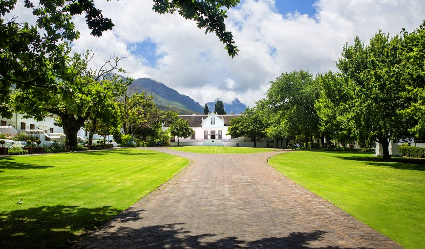 Welcome to Lanzerac Hotel and Spa in Stellenbosch, Western Cape , South Africa