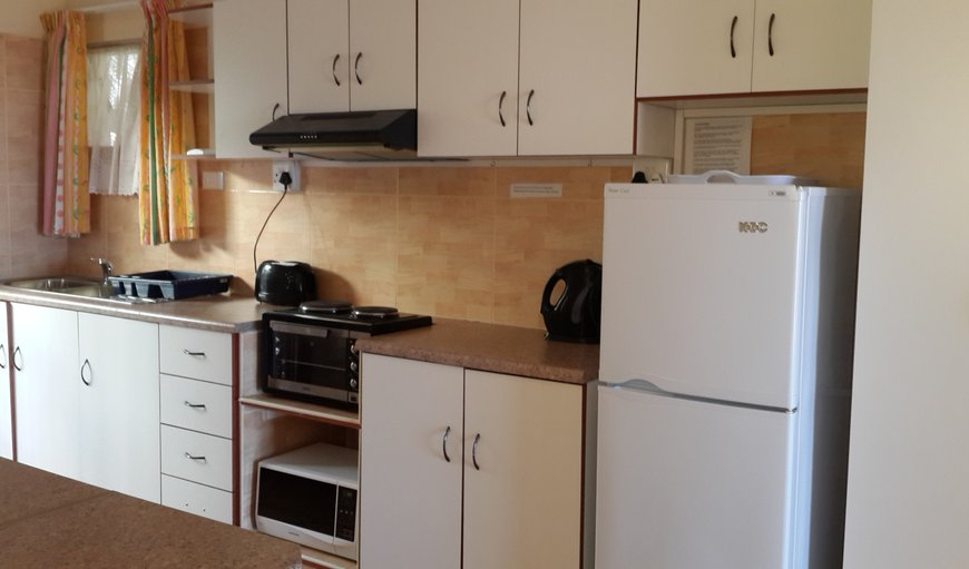 equipped kitchen of the studio unit 1 nor