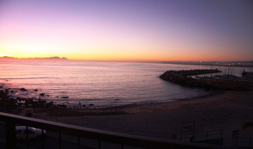 Every sunset is unique in Gordon's Bay, Western Cape, South Africa