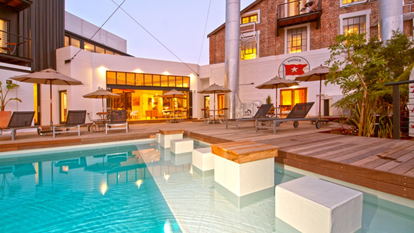 The turbine boutique hotel and spa in thesen islands for Boutique hotel spa