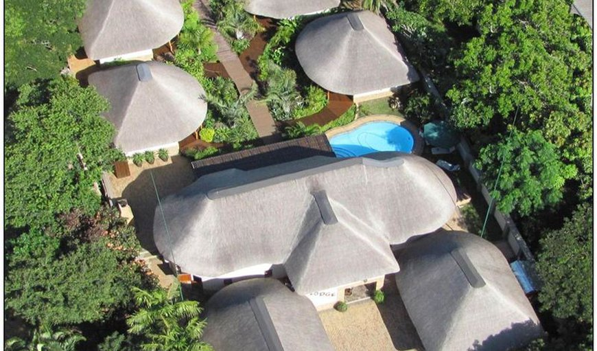 Lodge Afrique in St Lucia, KwaZulu-Natal , South Africa