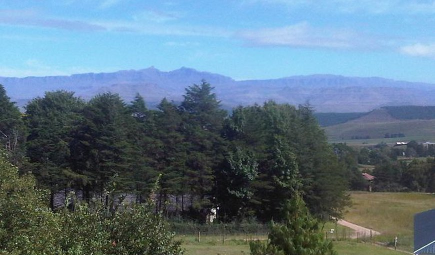 View is of the entire Southern Drakensberg mountain range