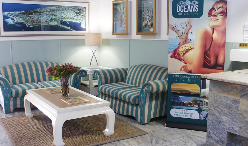 Welcome to Ocean Hotel - Reception Area  in Mossel Bay, Western Cape , South Africa