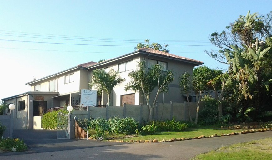 Street view in Amanzimtoti, KwaZulu-Natal, South Africa
