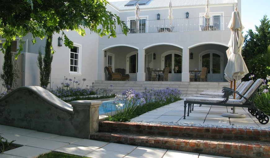 Welcome in Franschhoek, Western Cape, South Africa