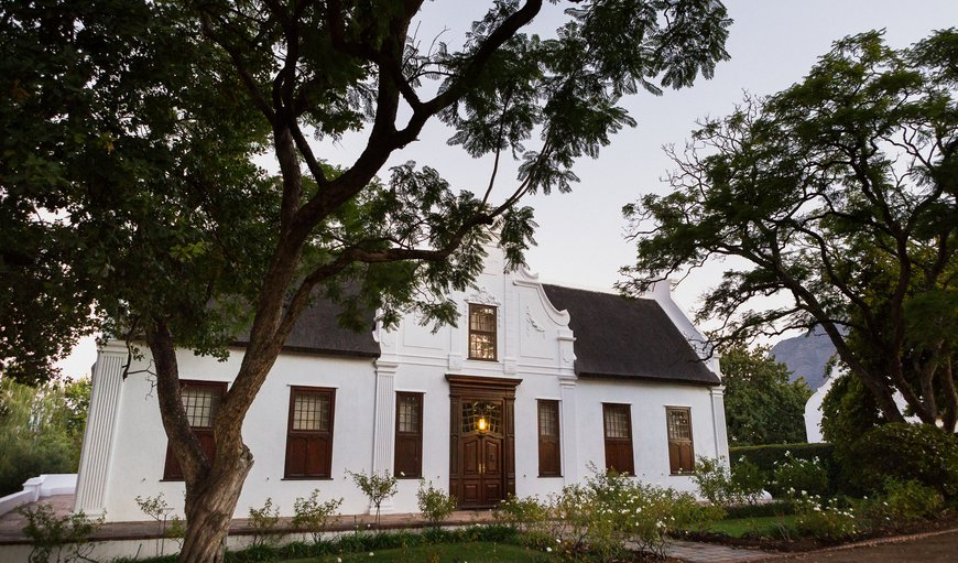 The Manor House in Franschhoek, Western Cape , South Africa
