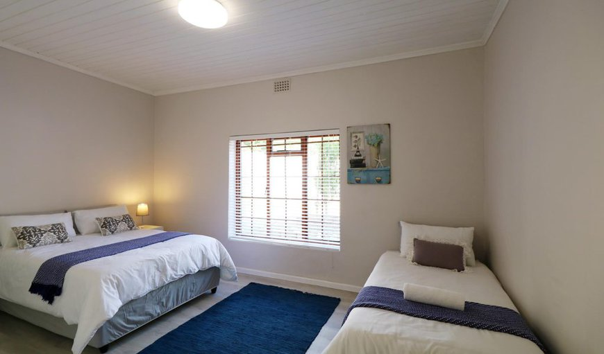 Oceana Beach house- 3rd bedroom:has one double bed and one single bed, ideal for a couple with a small child or a group of kids.
