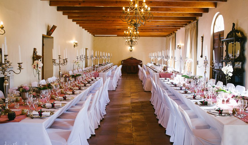 Klein Bottelary offers wedding functions in Bottelary Hills - an independent wine farm.