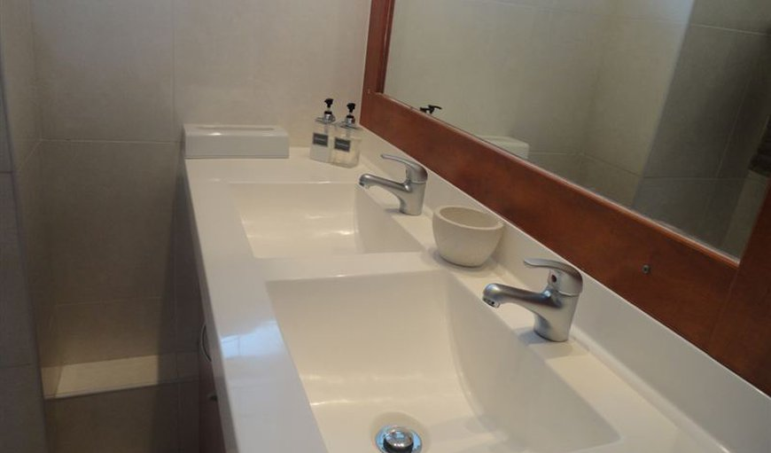 Bathroom with twin basins
