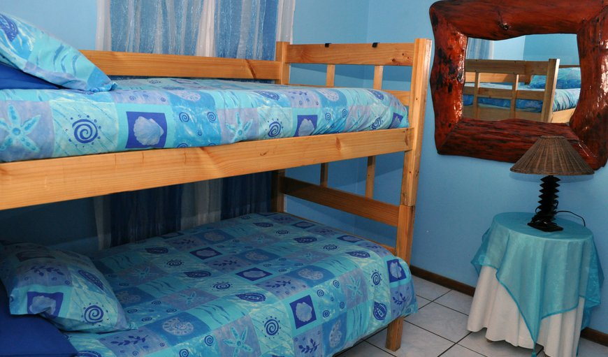 Second bedroom with bunk beds.