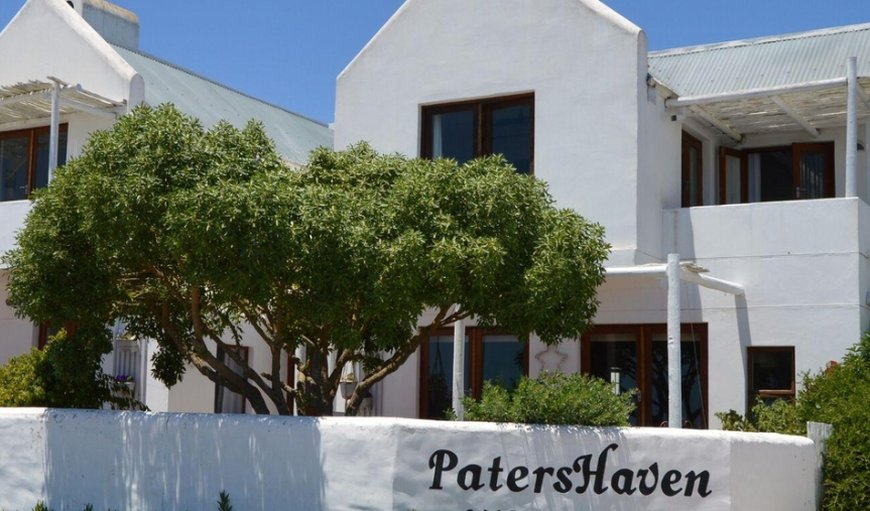 Partial Street view in Bek Bay (Bekbaai), Paternoster, Western Cape, South Africa