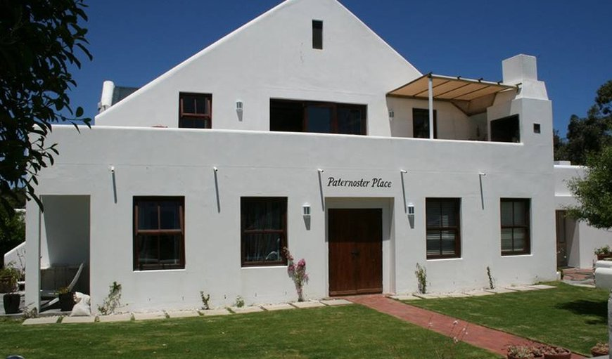 Welcome to Paternoster Place in Paternoster, Western Cape , South Africa