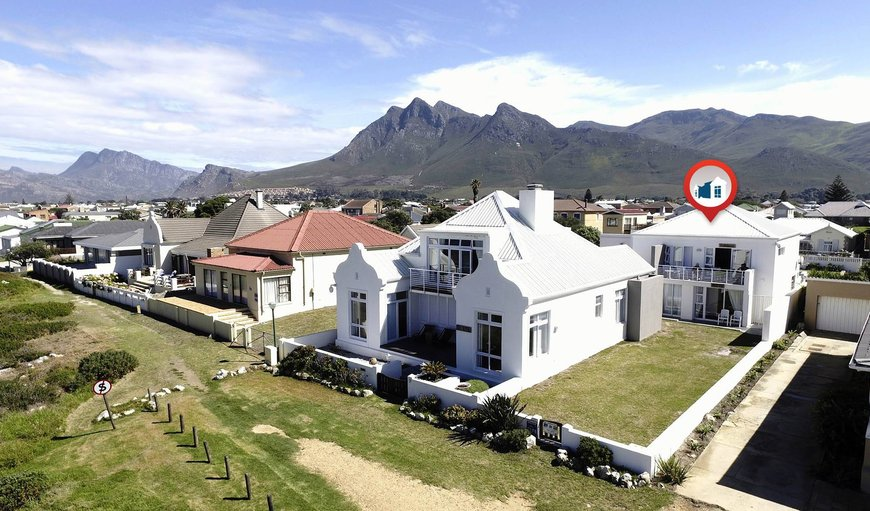 Die Rotse Host House & Self-catering with marker indicator on units Drievis and Spykerklip in Kleinmond, Western Cape , South Africa