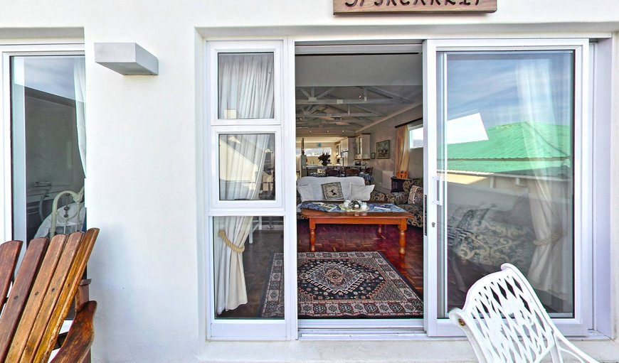 Spykerklip balcony with sea view in Kleinmond, Western Cape , South Africa