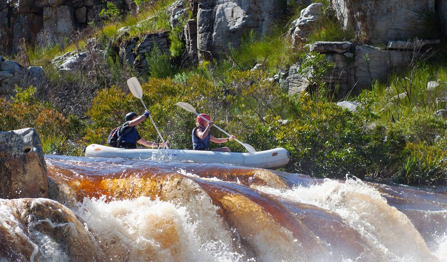 White water rafting - Palmiet River