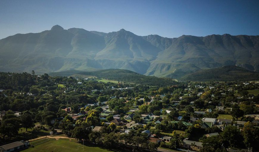 Guesthouse LaRachelle is situated in the historic town of Swellendam.