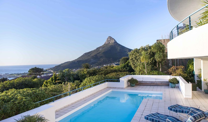 Enjoy the amazing view of Lion's Head from Bay Reflections in Camps Bay, Cape Town, Western Cape , South Africa