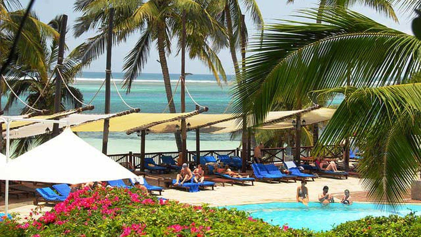 Voyager Beach Resort In Mombasa Coast Kenya