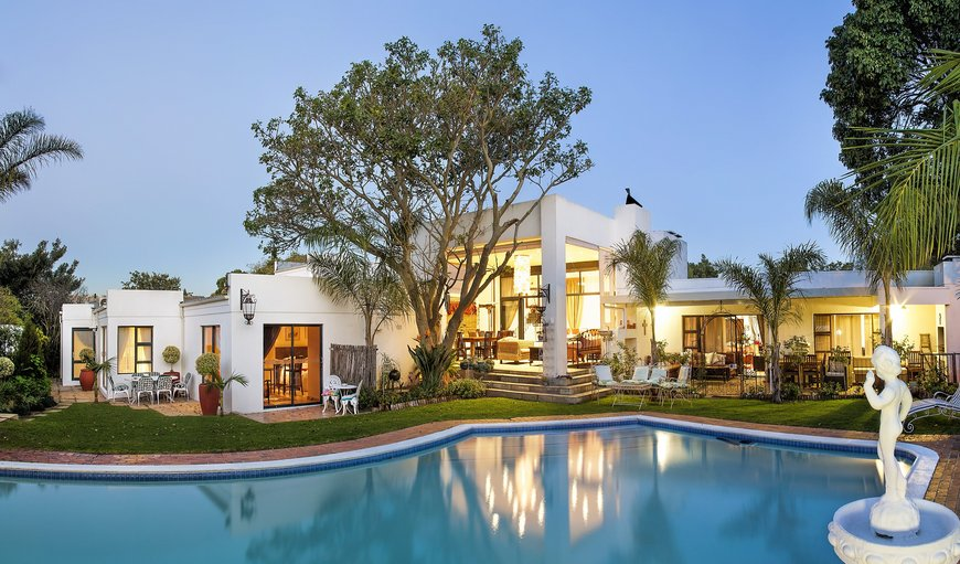 Garden & Pool Area in Durbanville, Cape Town, Western Cape, South Africa