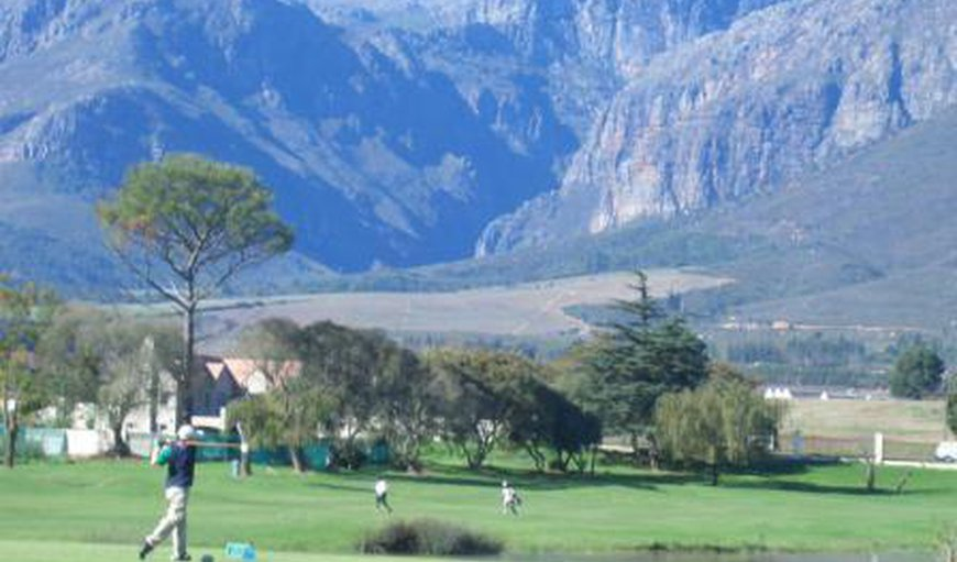 PaarlGolf in Paarl, Western Cape , South Africa