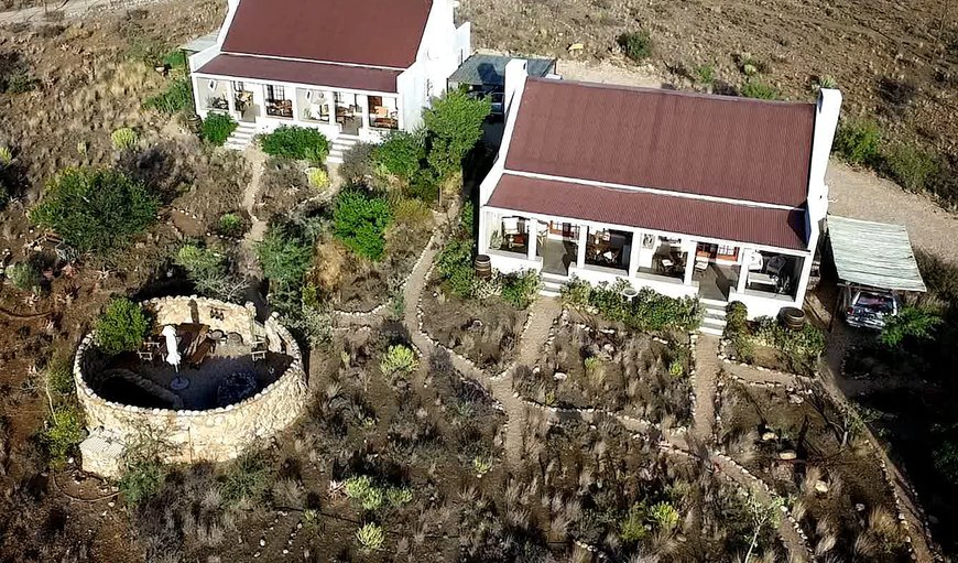Karoo View Cottages with Boma, braai area & Plunge Pool
