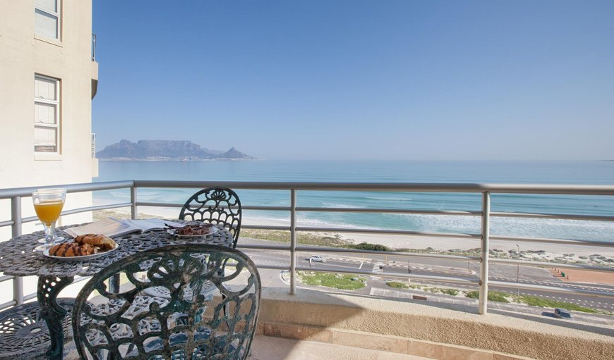 Balcony. in Bloubergstrand, Cape Town, Western Cape, South Africa