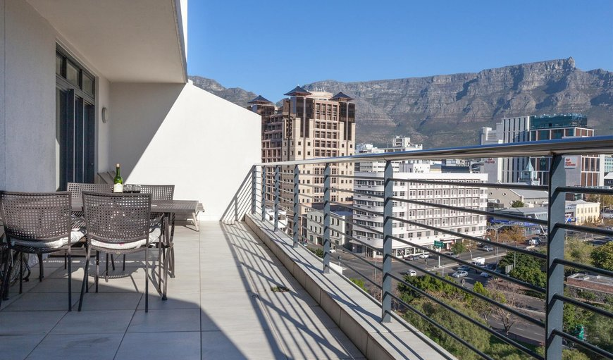 Balcony. in De Waterkant, Cape Town, Western Cape, South Africa
