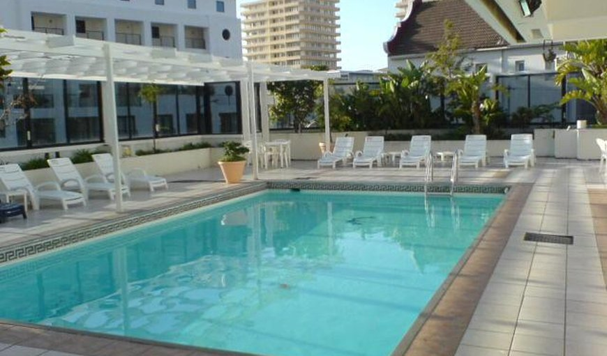 Swimming pool in Sea Point, Cape Town, Western Cape, South Africa