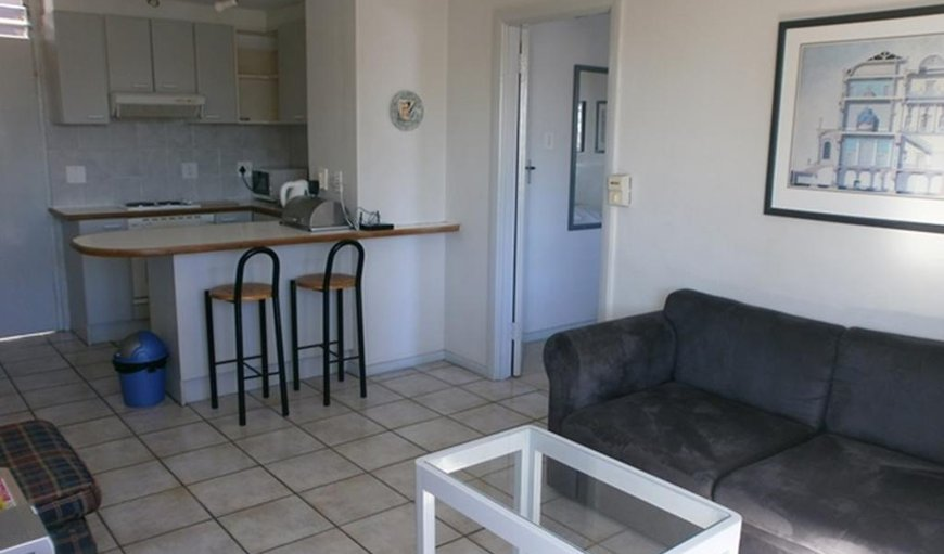 Apartment 201 - Lounge & Kitchen  in Sea Point, Cape Town, Western Cape , South Africa