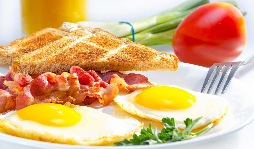 Full English breakfast is included. Breakfast starts at 7am