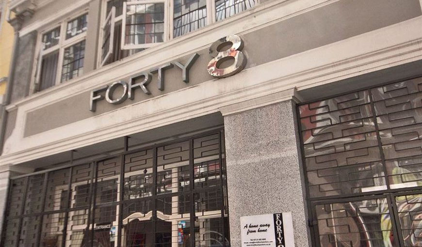 Forty8 Backpacker Hotel in Cape Town City Centre / CBD, Cape Town, Western Cape , South Africa