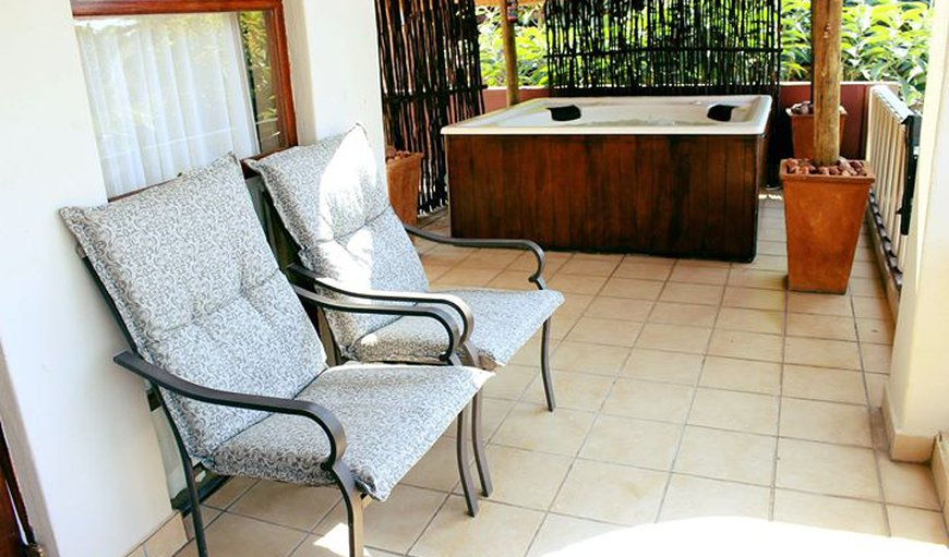 Outdoor furniture and Jacuzzi in Hartbeespoort Dam, Hartbeespoort, North West Province, South Africa