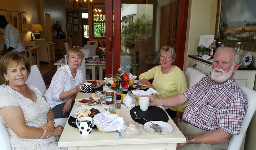 Our 'guests enjoying breakfast
