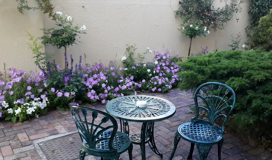 The Ethnic room garden patio