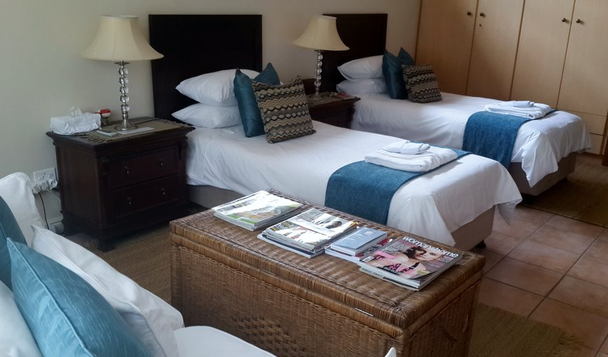 The Mountainview room - twin beds