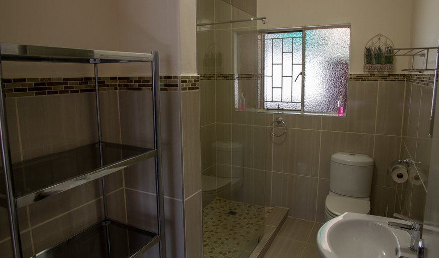 Bathroom with shower - two sleeper unit A